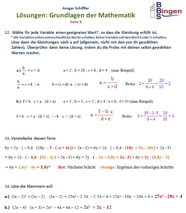 Gemütlich Auswuchten Gleichungen üben Arbeitsblatt Antworten Ideen ...