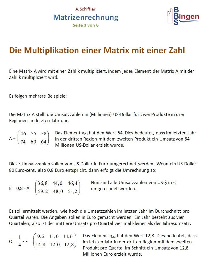 drei matrizen multiplizieren